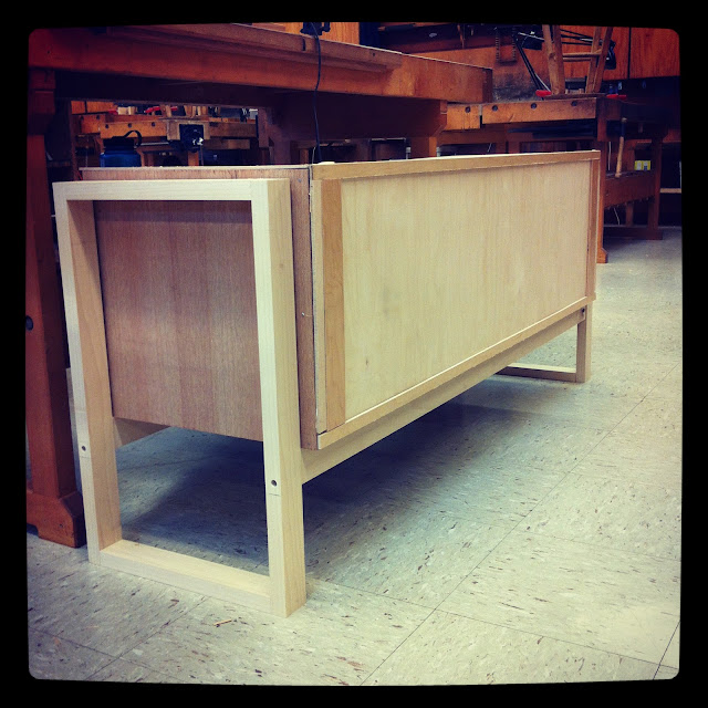 Darrick Rasmussen Furniture, SIdeboard mock-up