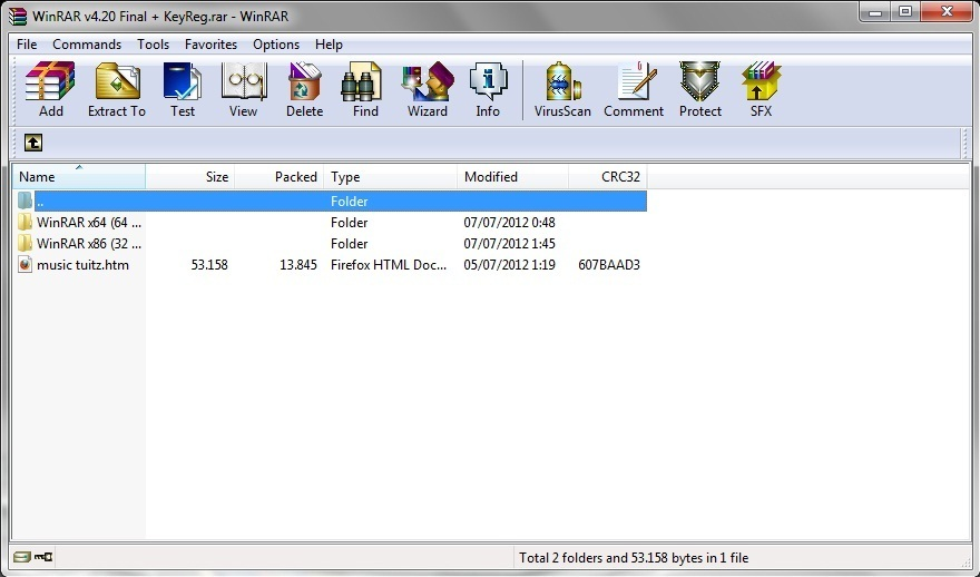 Winrar 4.00 final 32bit 64bit full version