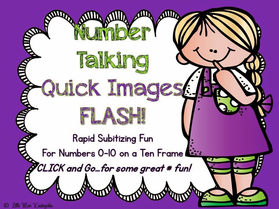 http://www.teacherspayteachers.com/Product/Number-TalkingQuick-Images-To-10-On-A-Ten-Frame-735974