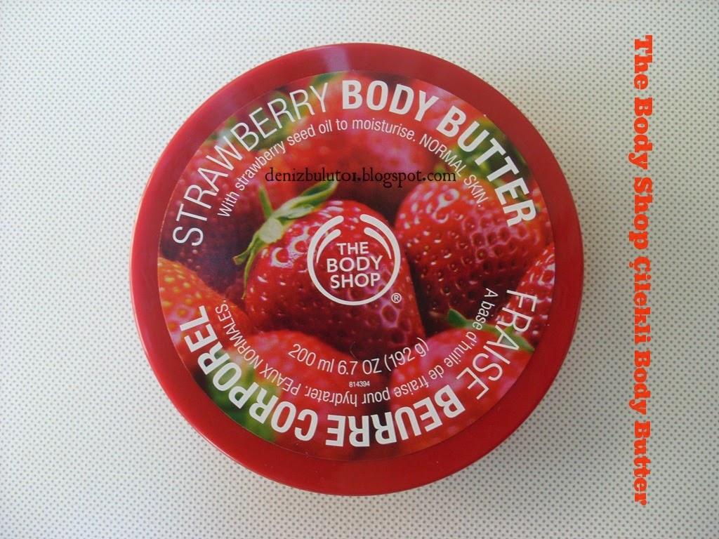 The Body Shop Cilekli Body Butter