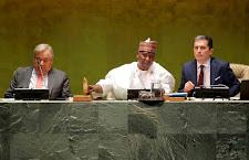 Líderes discursam na Assembleia Geral da ONU