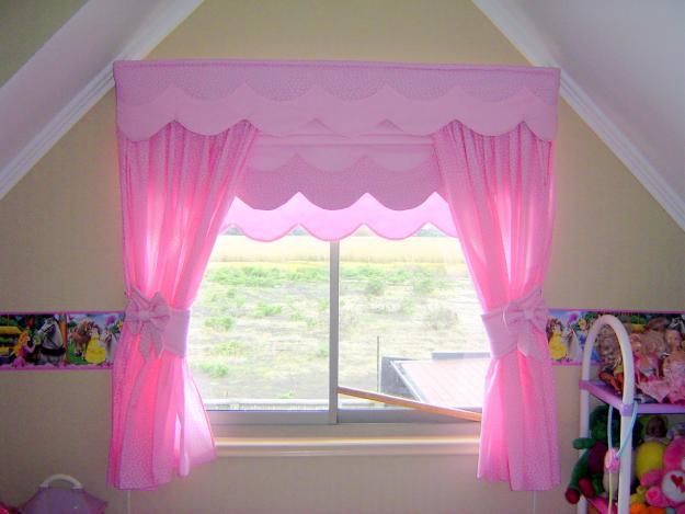 Flor das fadas by f tima nogueira cortinas para quartos - Ideas para cortinas infantiles ...