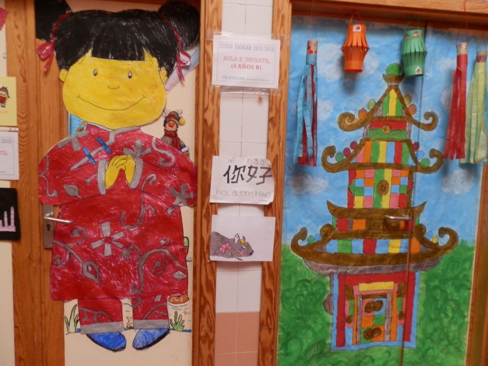 Proyectos en educaci n infantil febrero 2013 for Puertas decoradas educacion infantil
