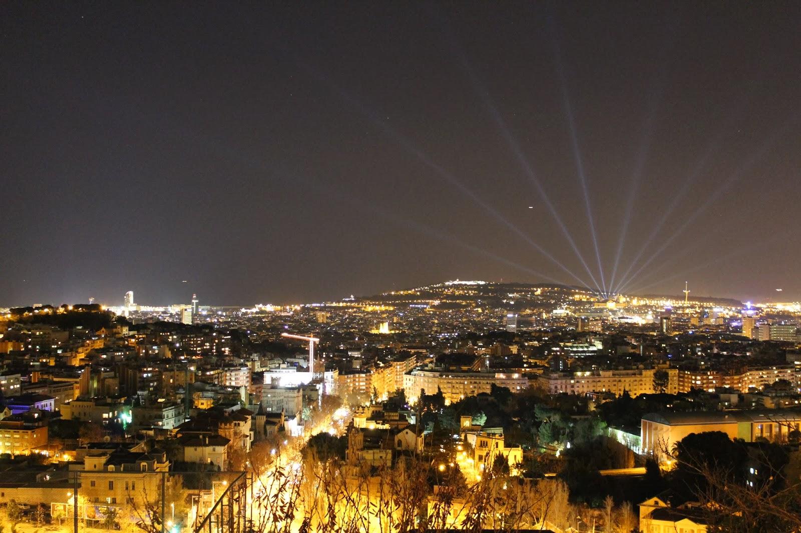 Anocher en Barcelona