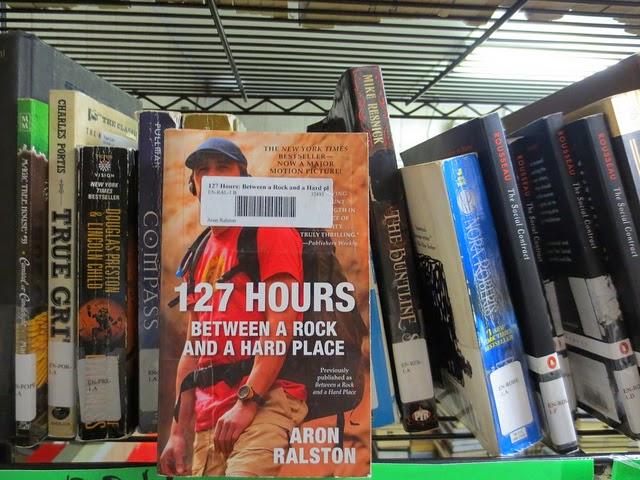 Guantanamo Bay, Josh Wieder, 127 Hours, prison library, Aron Ralston
