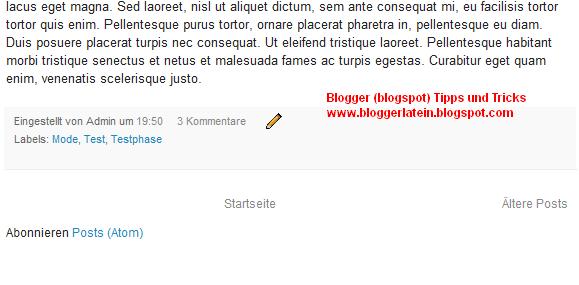 Abonnieren Posts (Atom) entfernen Blogger Blogspot