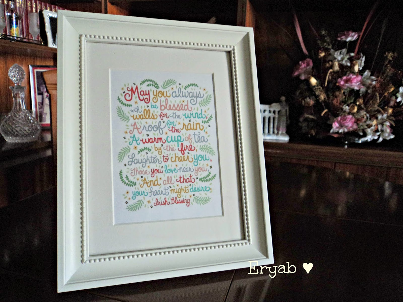Cuadro decorativo Irish sentiment