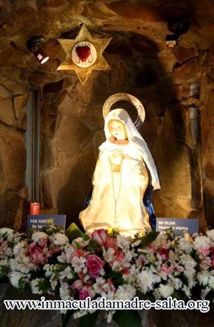 INMACULADA MADRE DEL CORAZON EUCARISTICO DE JESUS