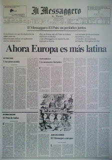 Il Messaggero, 4 enero 1986 - &quot;Ahora Europa es ms latina&quot;