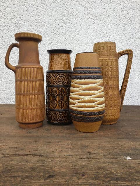 cerâmica, vintage, west germany, anos 70, decoração vintage