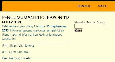 Selamat bagi bapak/Ibu Guru yang telah mengikuti PLPG tahun 2013