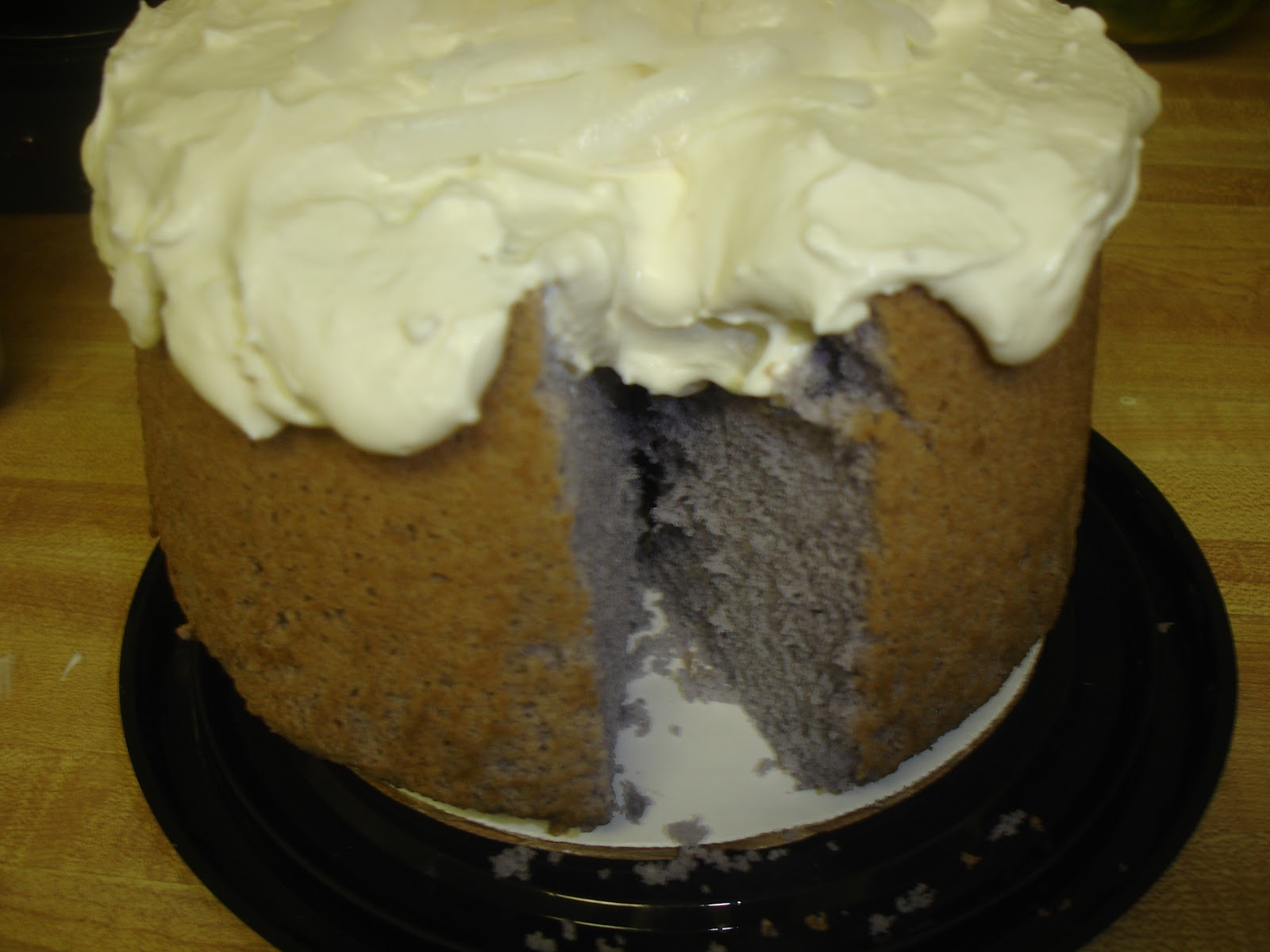Cakepolitan: Purple Yam Chiffon Cake