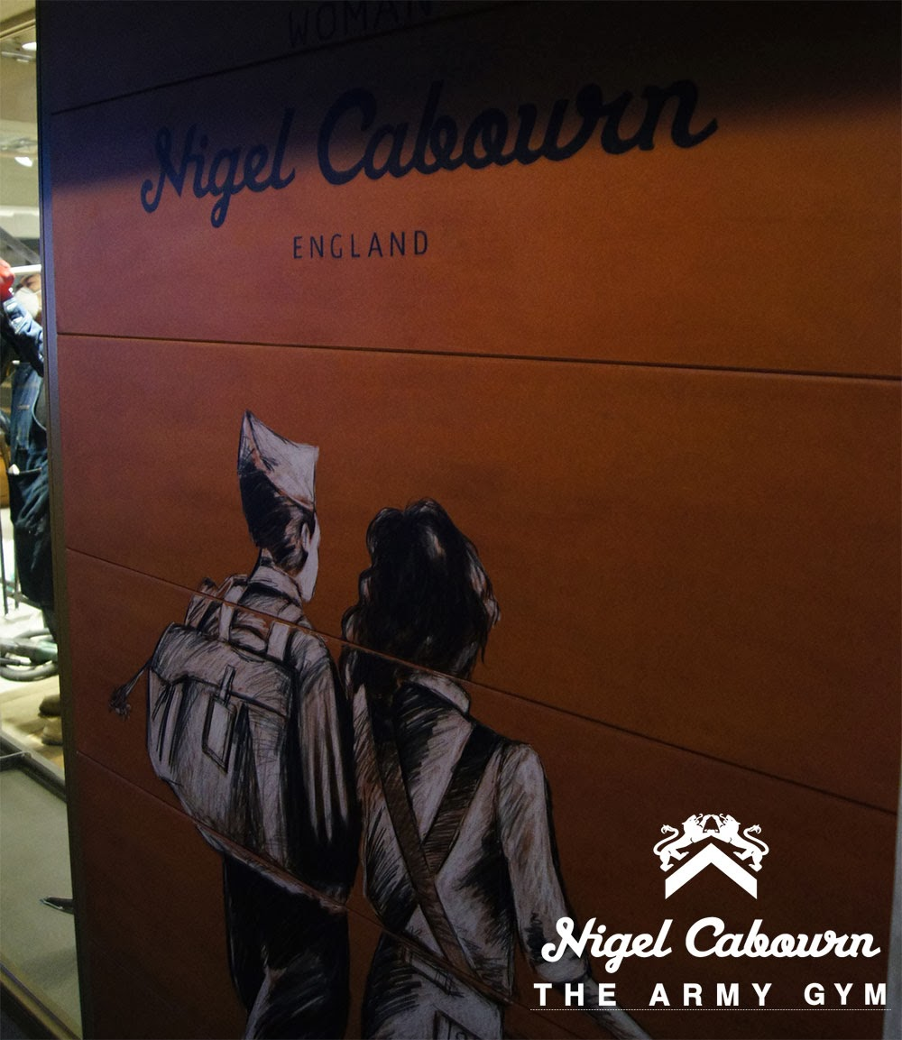 Nigel Cabourn THE ARMY GYM 中目黒店