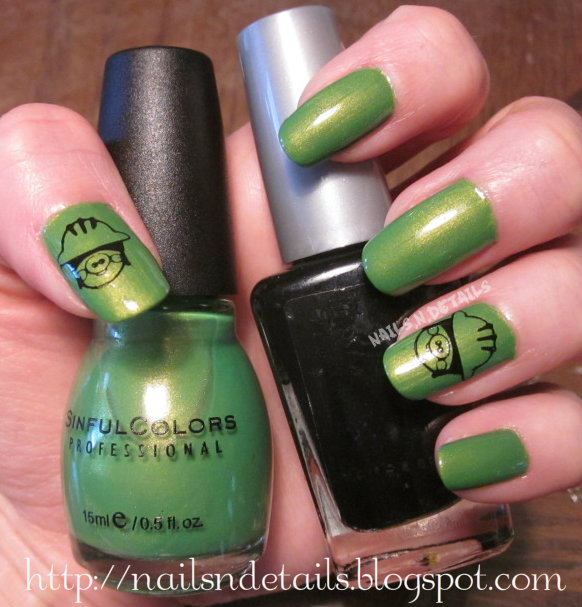 Nails.N.Details: Inspire Me Monday: Angry Birds- Green Pig