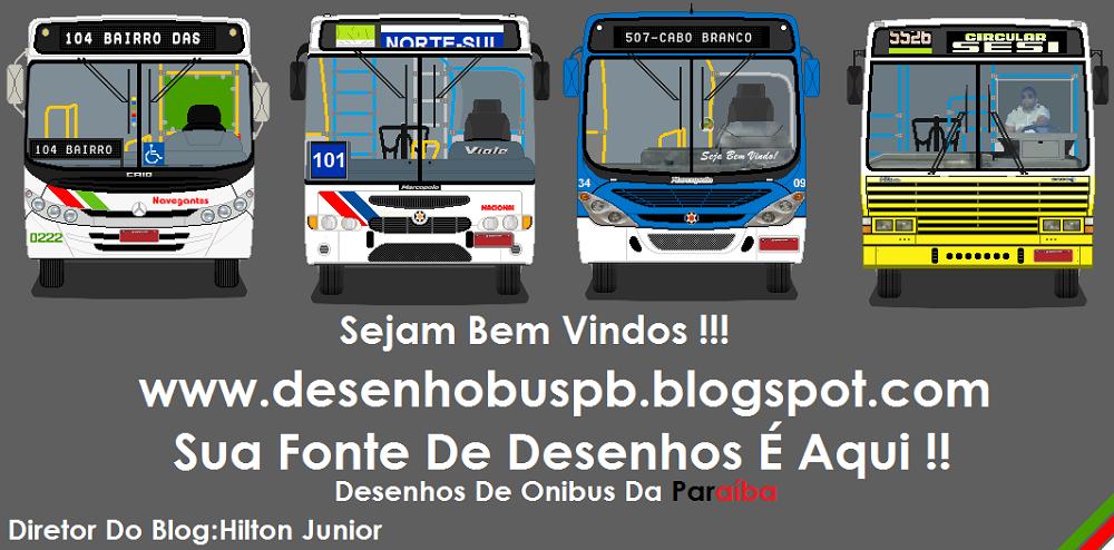 Desenhos de Ônibus da Paraíba