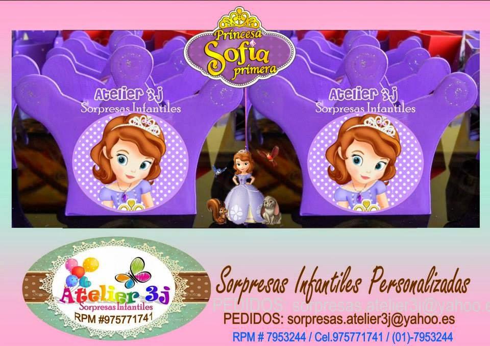SORPRESAS INFANTILES PRINCESA SOFIA