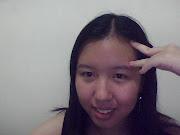 Me wearing Auntie Sim's pressie! (snapshot )