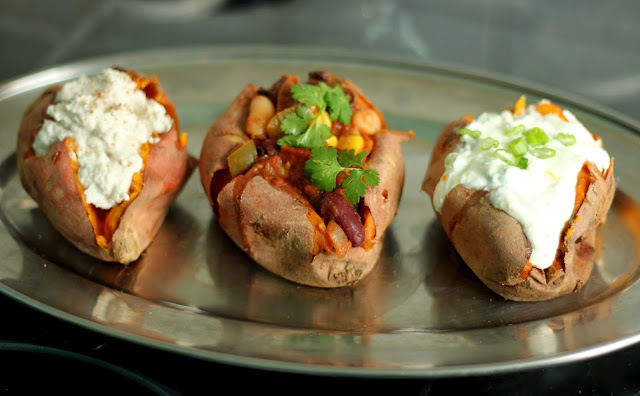 Baked Sweet Potato Toppings  recipes