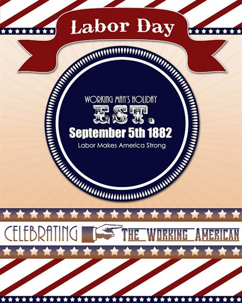 Top Labor Day Posters Images: Labor Day Poster Of America Ti Celebrate The Working American