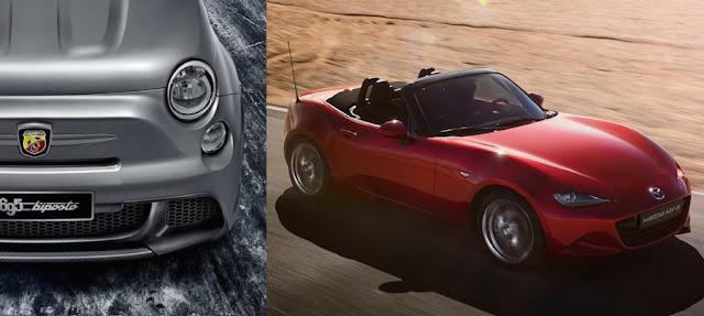 マツダ・ロードスターベースの「フィアット124スパイダー」に高性能なアバルト仕様が登場?