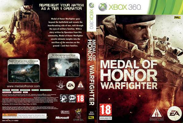 Medal of Honor Warfighter [2012][Español][R.F.][XGD3-LT3.0][2 DVD]