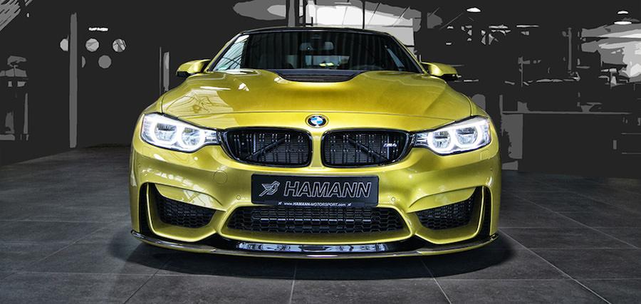 HAMANNから「BMW M4」の新たなチューニングプログラムの画像を公開