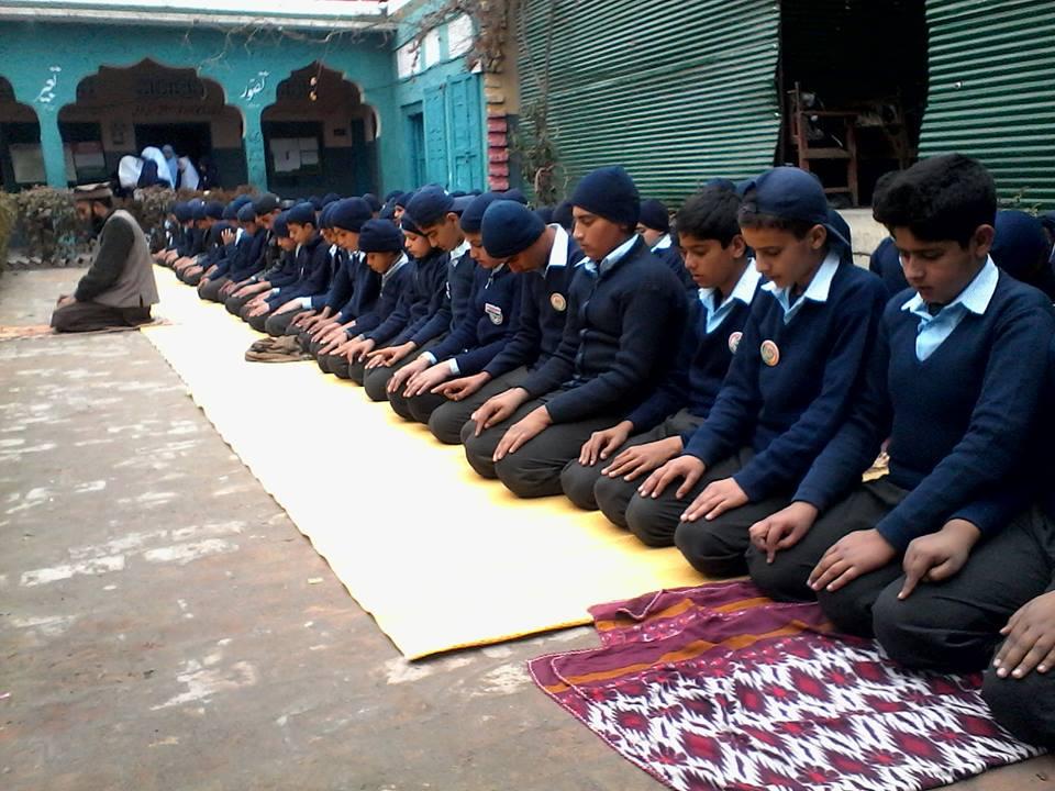 Students In Prayer