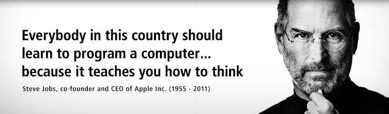Image result for quote by steve jobs about coding