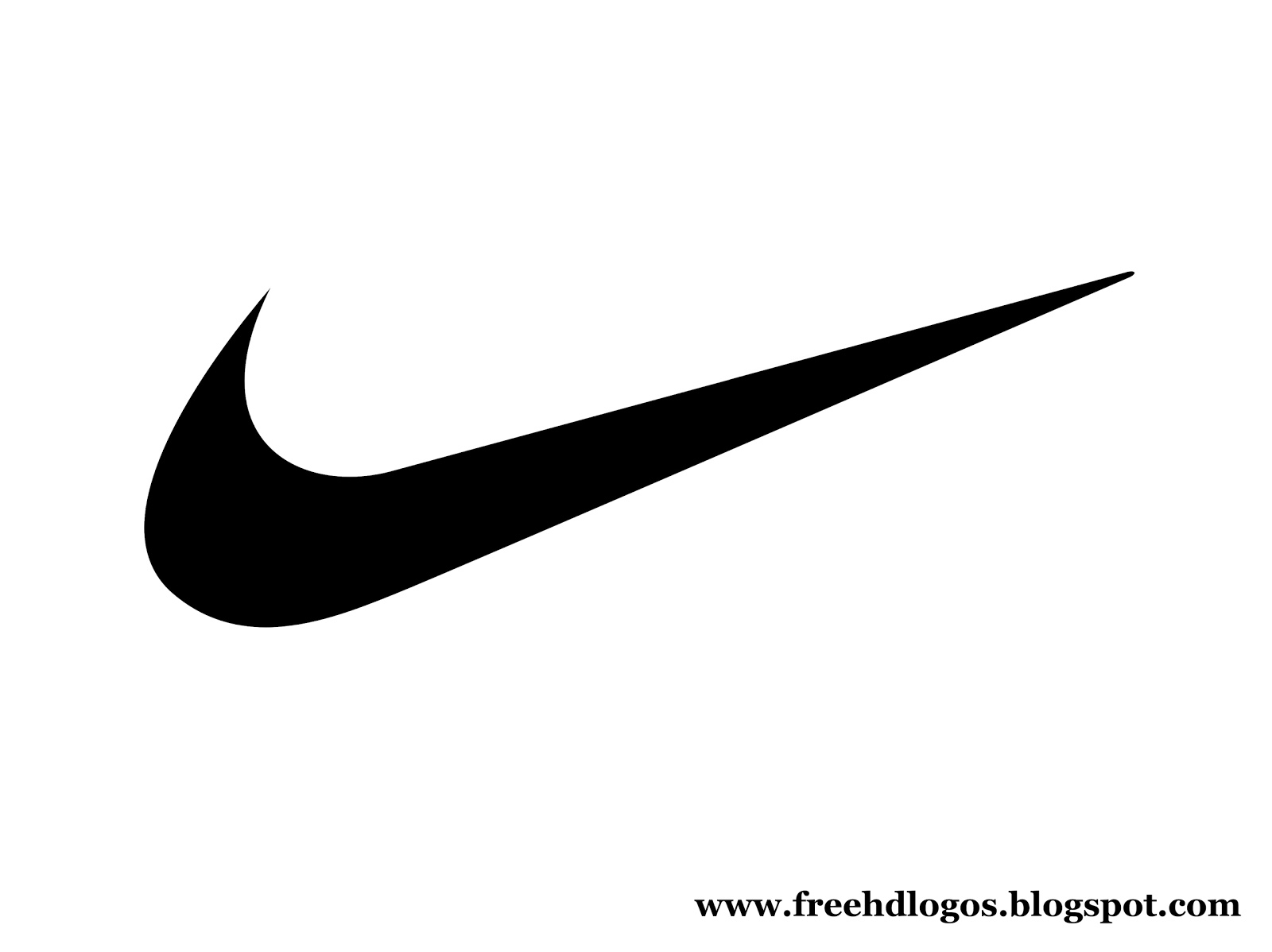 Free hd logos and images nike logos hd large size for Nike swoosh template