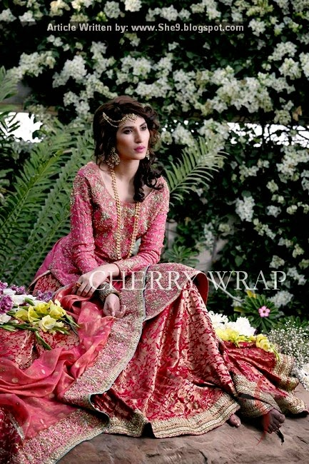 Latest Bridal Wear by Cherry Wrap