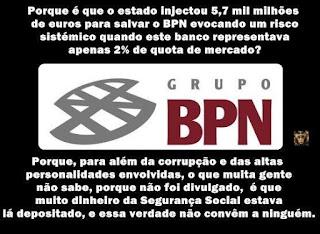 BPN segurança Social milhões roubam