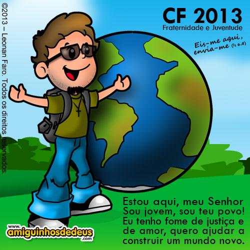 desenho campanha da fraternidade 2013 - CF 2013