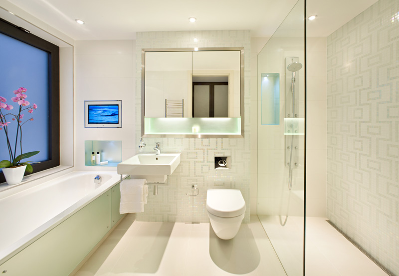 modern homes modern bathrooms designs