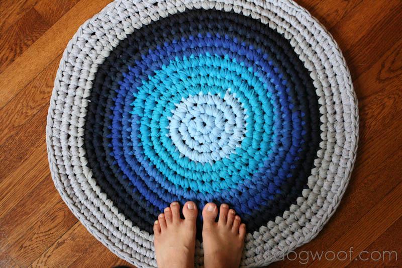 Tappeto Ovale Alluncinetto : Riciclo creativo riutile un tappeto all uncinetto da vecchie t
