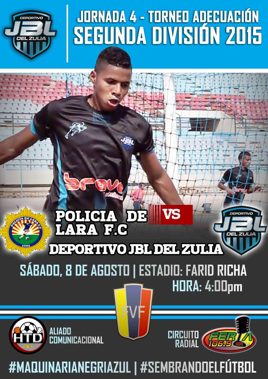 J4 empate ante Policía de Lara en Barquisimeto