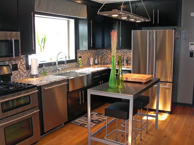 Interior Design Cool Modern Kitchen