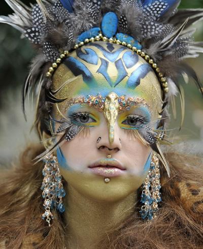 Wishing For A Wishing Well Avant Garde Airbrushing - Avant-garde-makeup-themes
