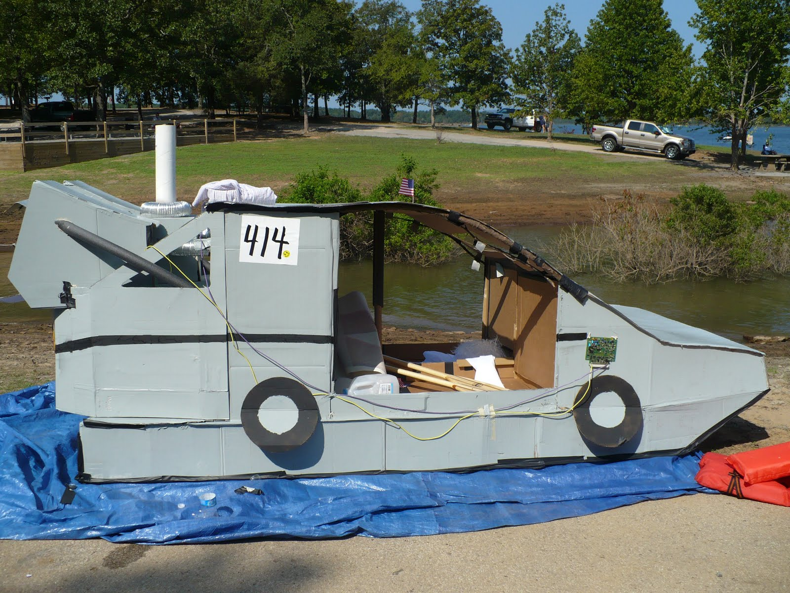 The Little Things Cardboard Boat Races