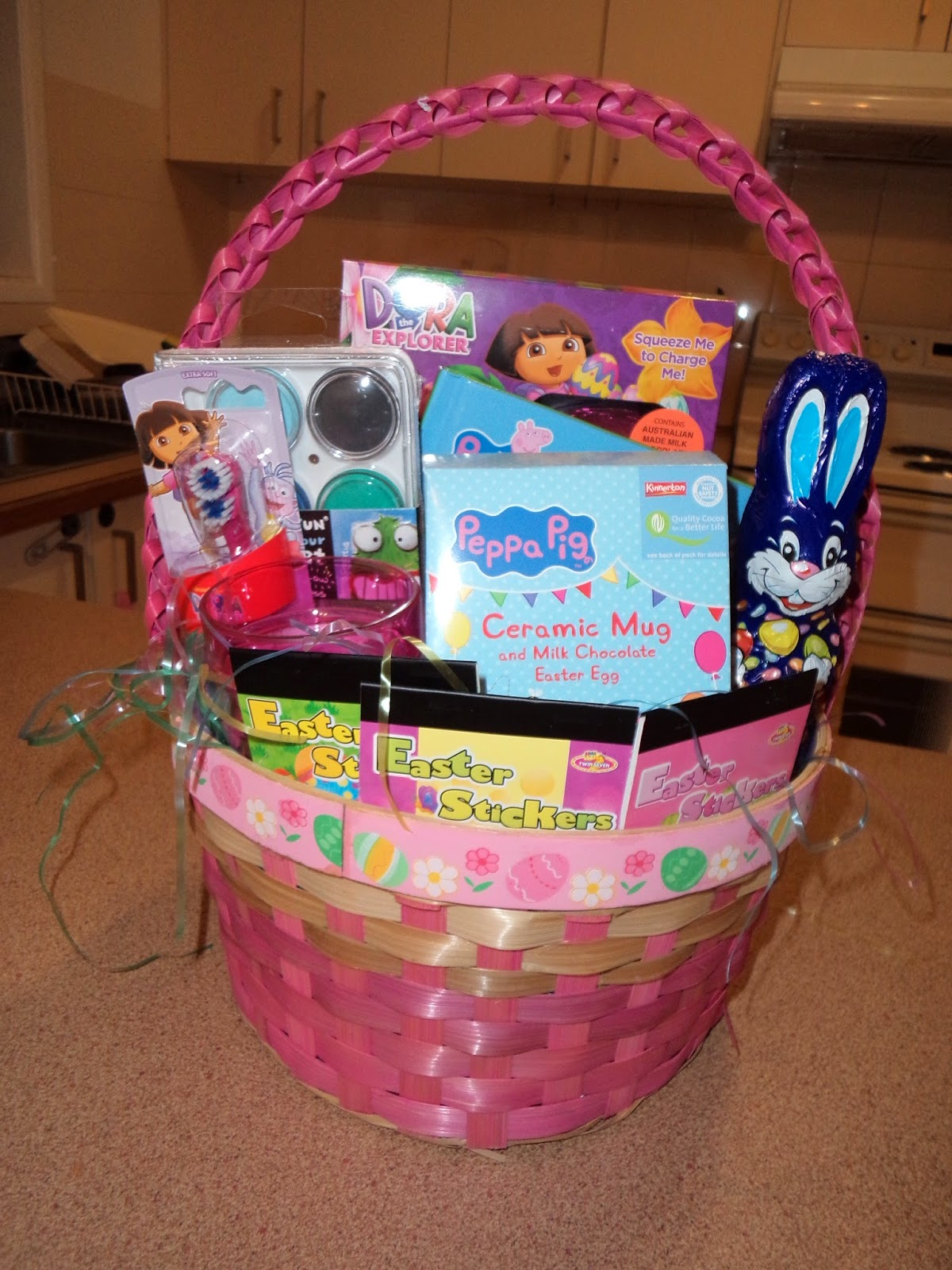 The mumma next door toddler easter gift basket toddler easter gift basket negle Choice Image
