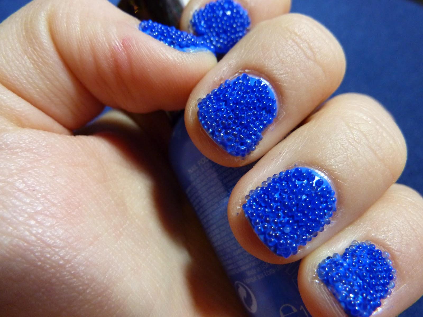 Caviar/MicroBead Nails!