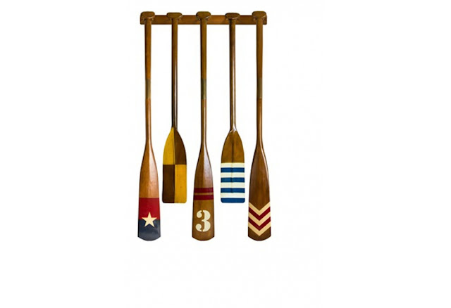 Wooden Oars For Decoration