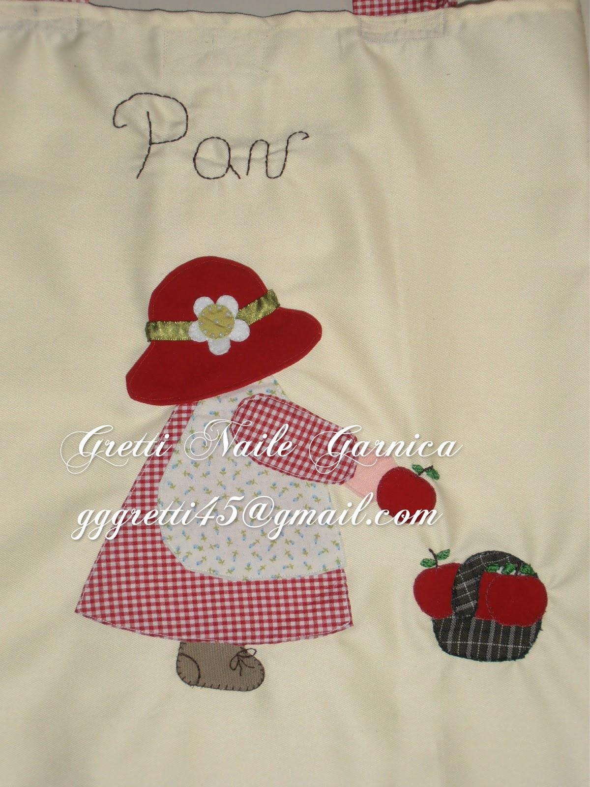 Juego De Baño Ofertas:Muñeca patchwork de la bolsa para el pan en tela