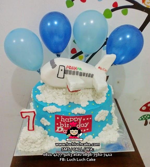 Kue Tart Adam Air Daerah Surabaya - Sidoarjo