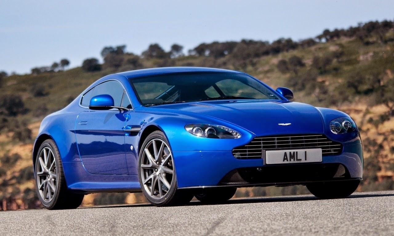 Aston Martin V8 Vantage S Cobalt Blue 2011