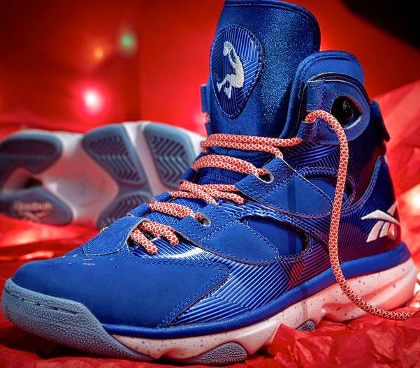 81028820d7d4 The long narrow strips of metallic blue shine like tinsel and the Candy Cane  striped laces are a sweet finishing touch. These release on December 19th  for ...