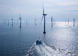 The builders of the London Array just turned on their 175th turbine, making it the largest offshore wind farm in the world.