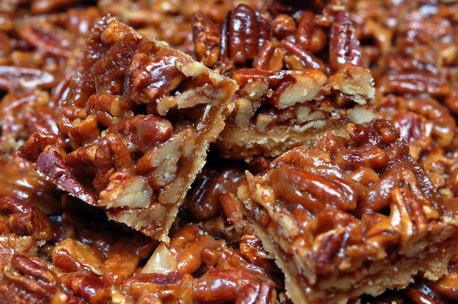 PECAN PIE SHORTBREAD BARS