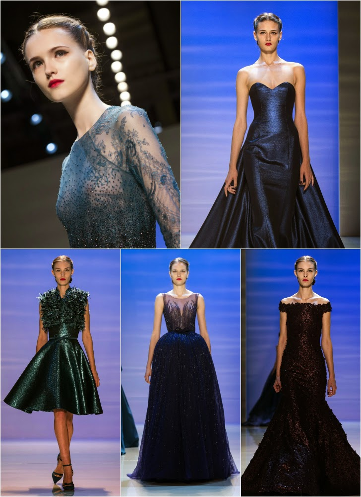 Georges Hobeika Haute Couture AW 14-15 © LUSA