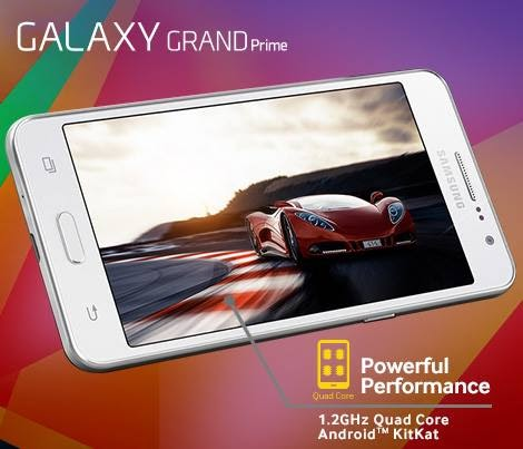 Samsung Galaxy Grand Prime: Specs, Price and Availability