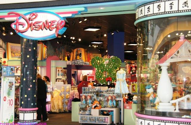 Loja Disney Store Orlando Miami
